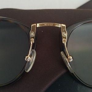 Persol Accessories - Persol 3108-S Unisex Round 49mm Sunglasses